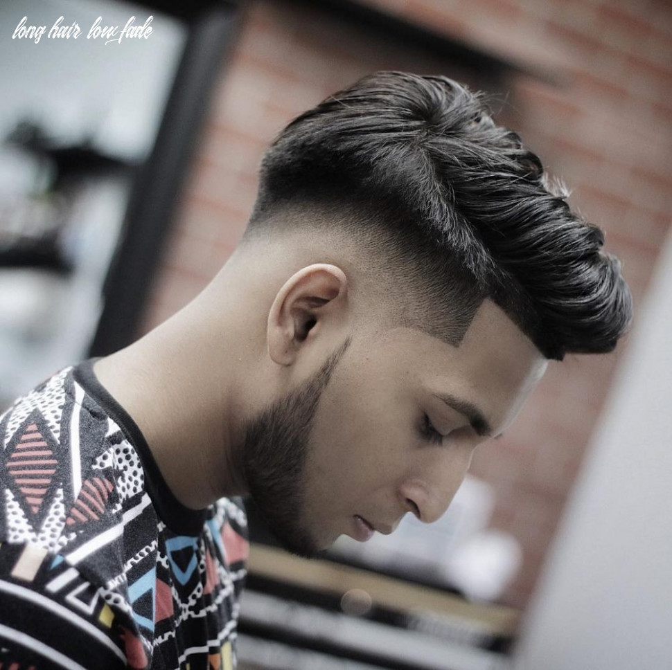 8 greatest low fade haircuts for men in 8 long hair low fade
