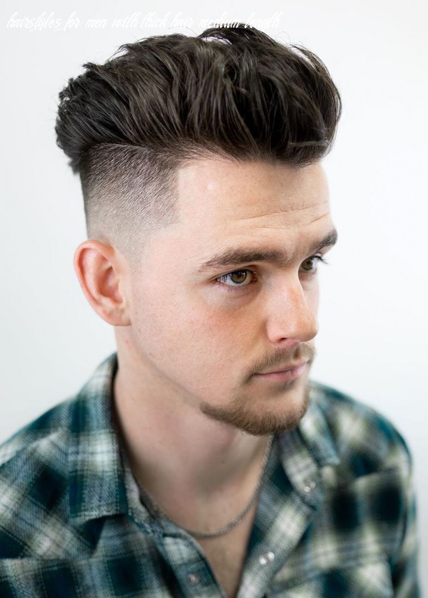 8 haircuts for men with thick hair (high volume) hairstyles for men with thick hair medium length