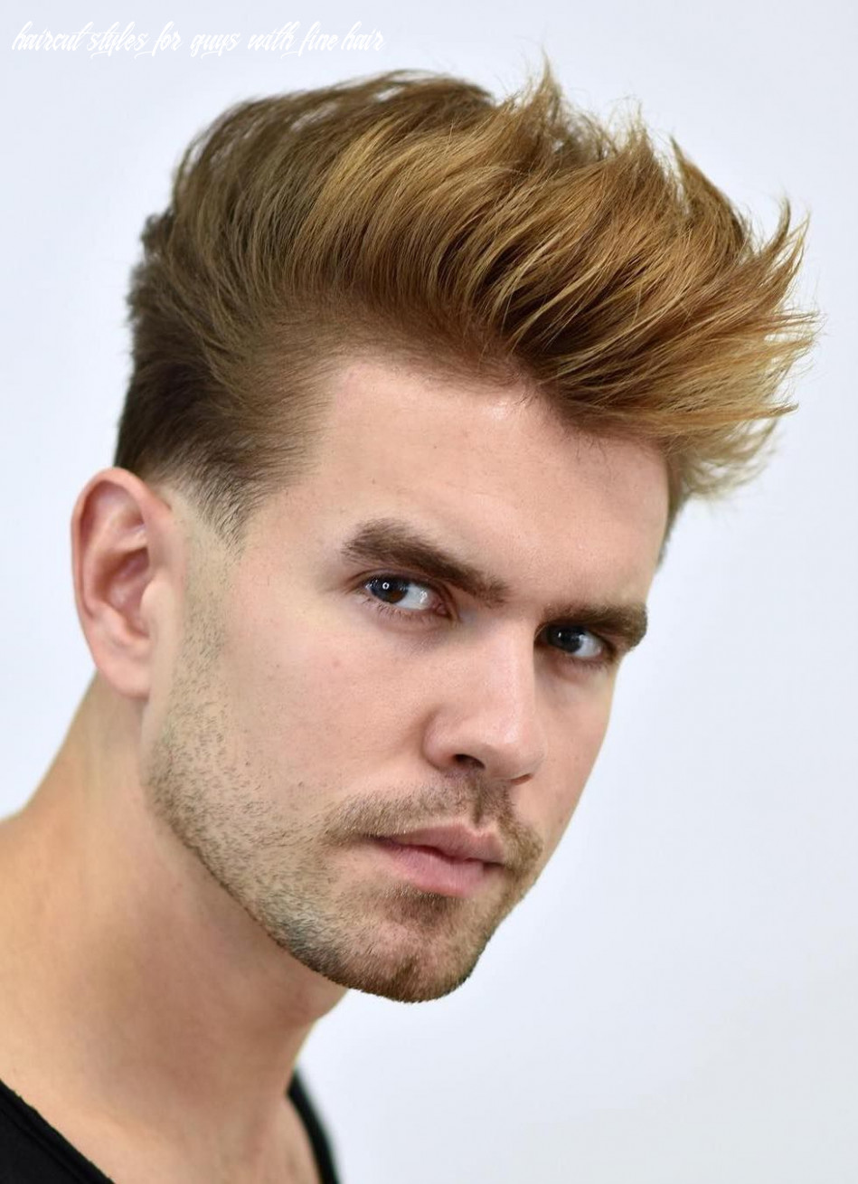 8 hairstyles for men with thin hair (add more volume) (with
