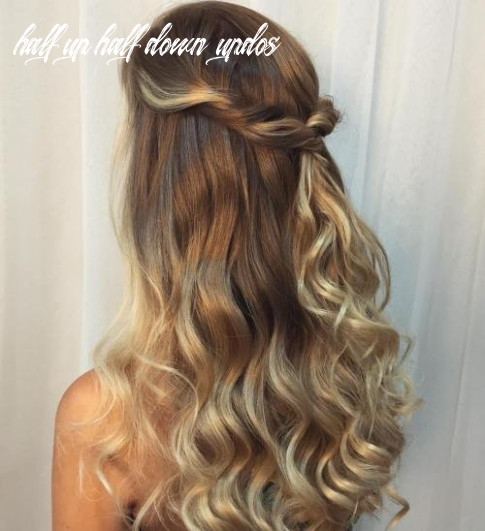 8 Half Up Half Down Hairstyles for Everyday and Party Looks