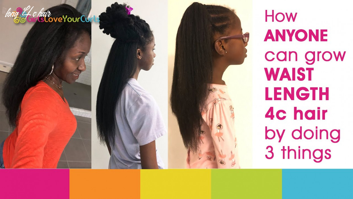 ♥ 8 ♥ HOW TO GROW LONG NATURAL 8c HAIR BY DOING 8 THINGS - Our EASY  monthly natural hair routine.