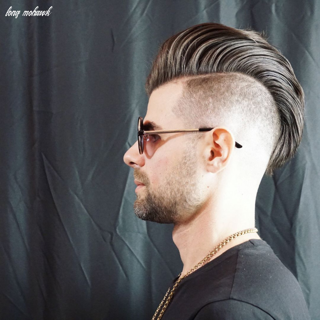 8 Impressive And Bold Mohawk Haircuts For Men - Styleoholic