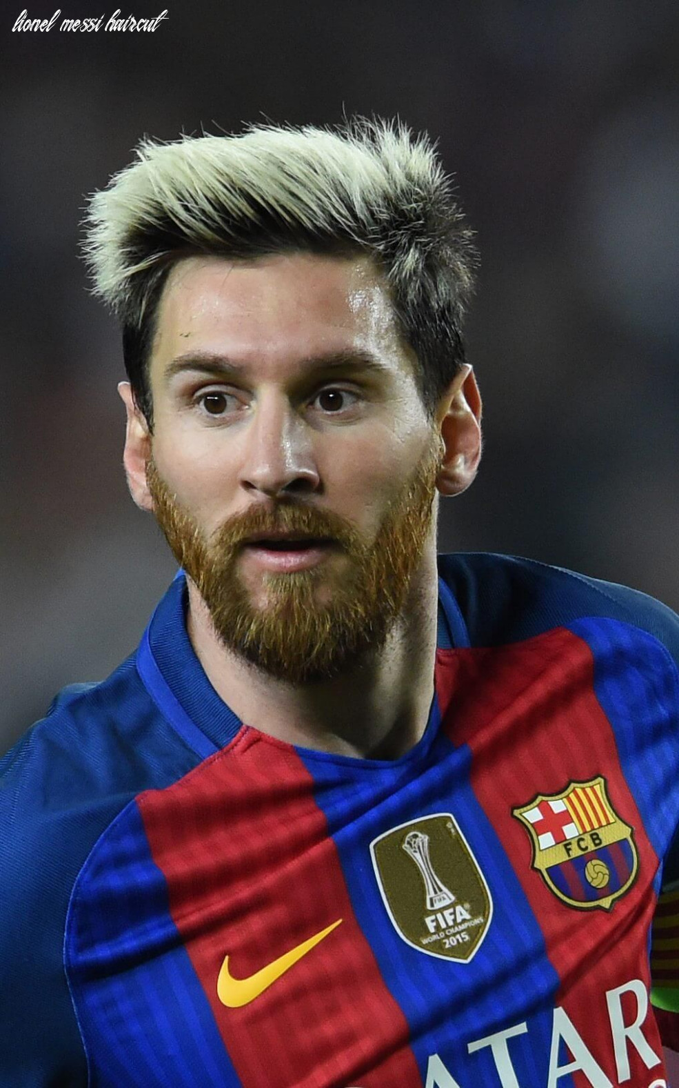8 inspiring lionel messi hairstyles and haircuts | lionel messi
