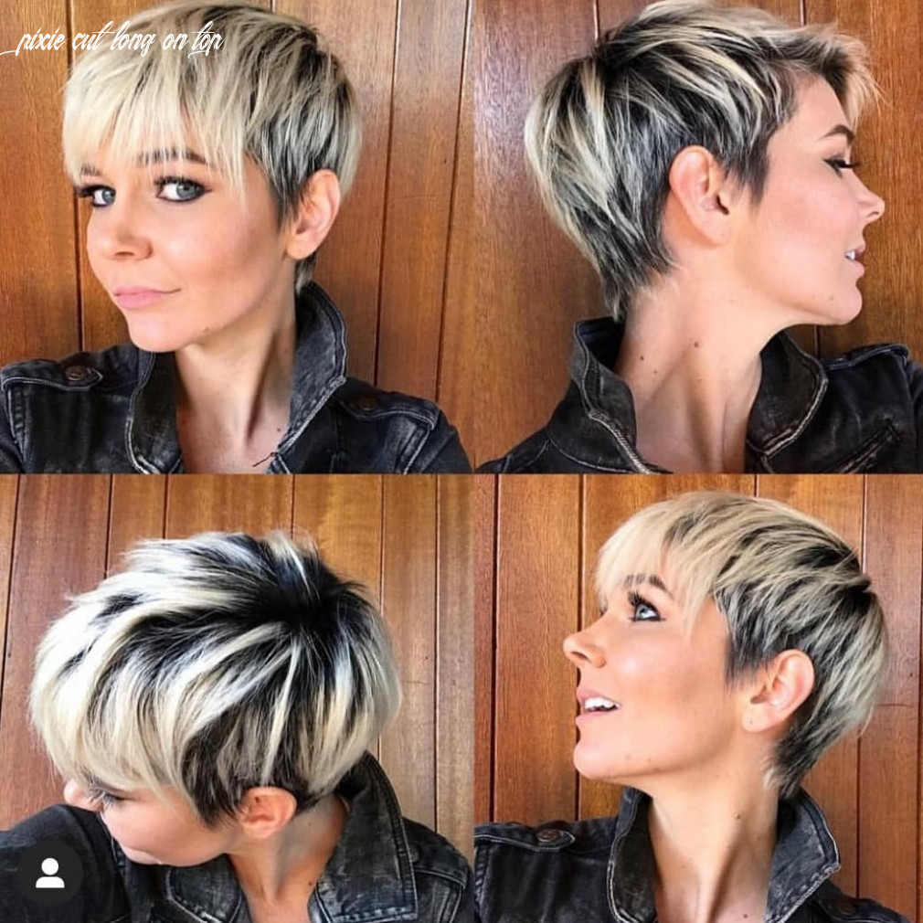 8 irresistible short & long pixie cuts   stylesrant pixie cut long on top