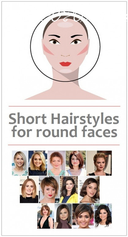 8 latest short haircuts for round face women in 8 | styles at life hairstyles 2020 female round face