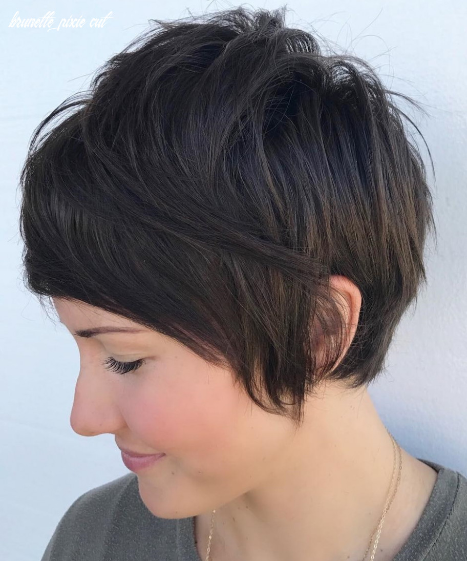 8 long pixie cuts to make you stand out in 8 hair adviser brunette pixie cut