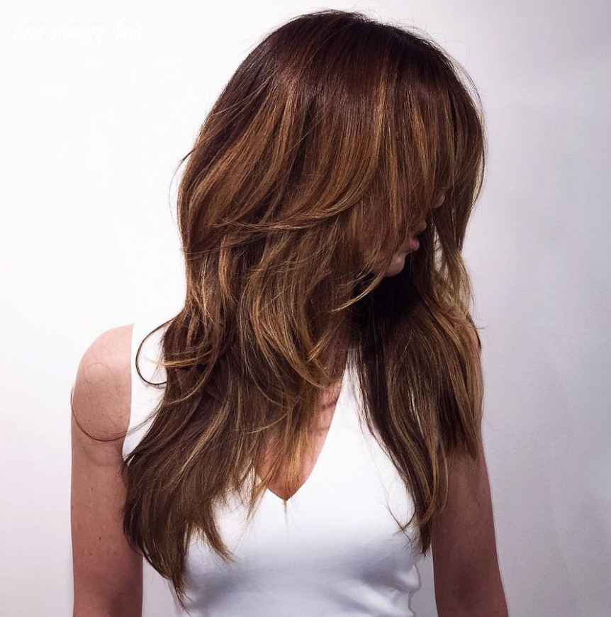 8 long shag haircut ideas & trends hair adviser long shaggy hair