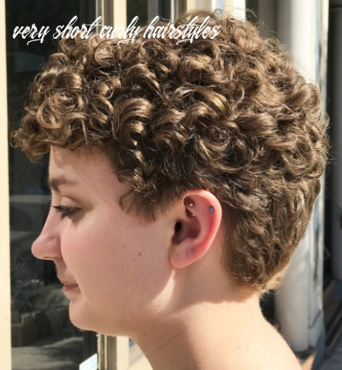 8 most delightful short wavy hairstyles very short curly hairstyles