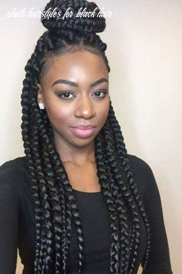8 of the best looking black braided hairstyles for 8 plaits hairstyles for black hair