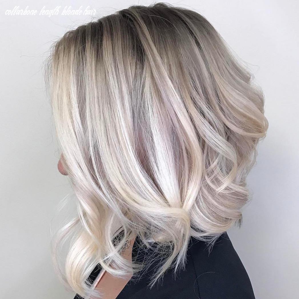 8 ombre balayage hairstyles for medium length hair, hair color 8 collarbone length blonde hair