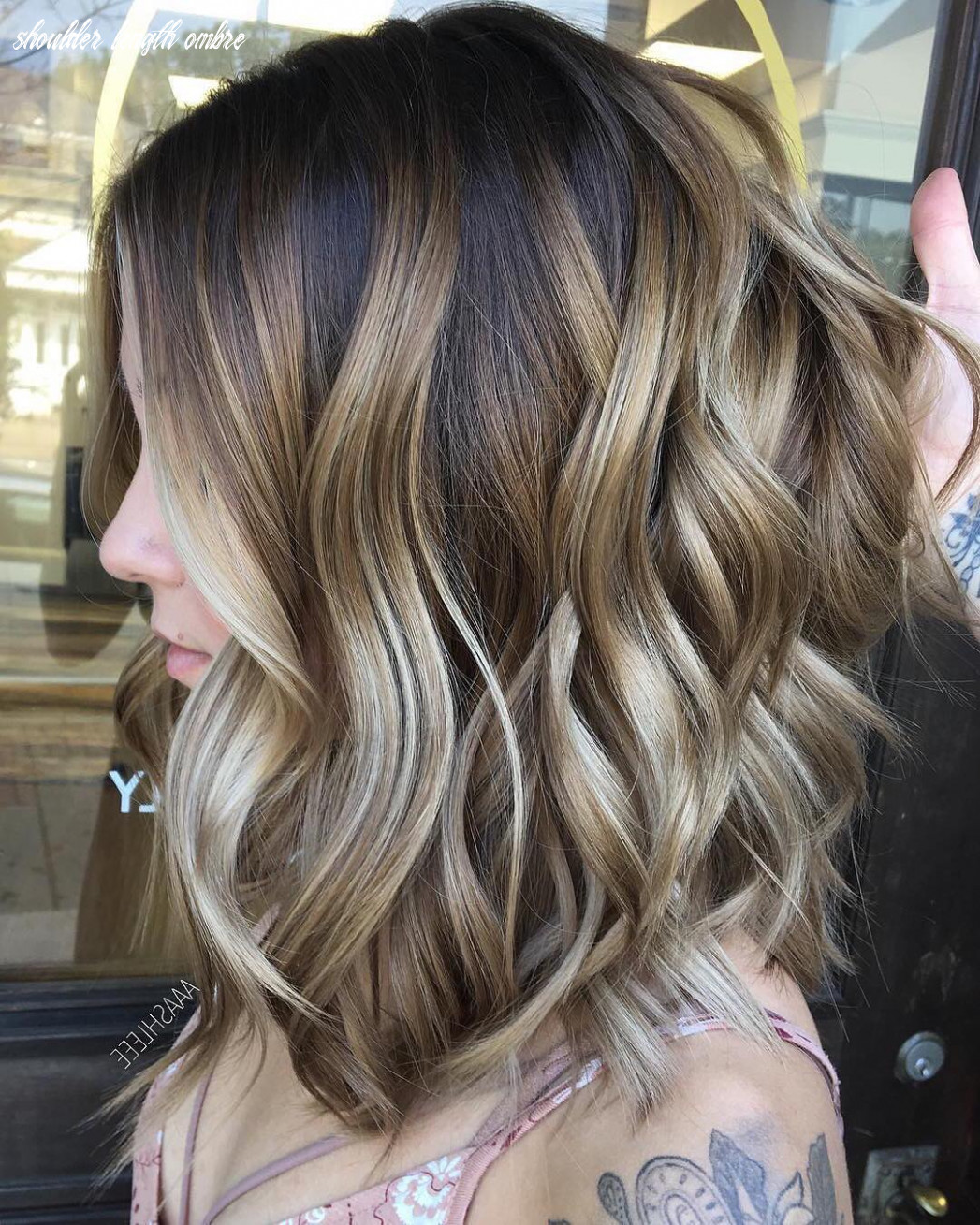 8 ombre balayage hairstyles for medium length hair, hair color 8 shoulder length ombre