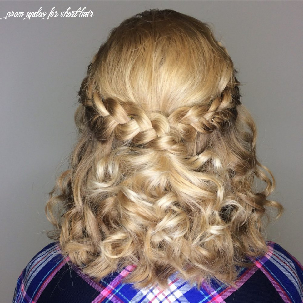 8 prom hairstyle for short hair in 8 is here ( 87 more) prom updos for short hair