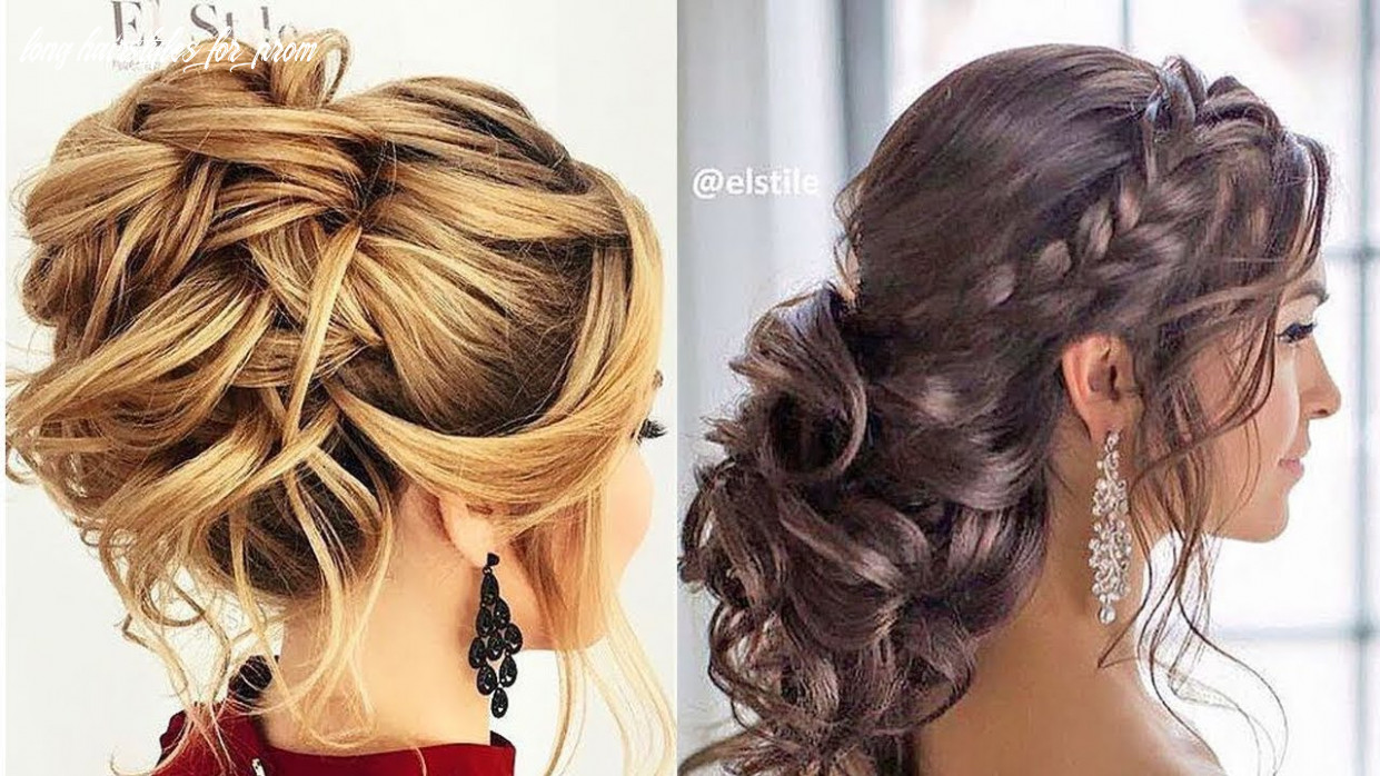 8 romantic prom & wedding hairstyles 😍 professional hair ideas 8 long hairstyles for prom