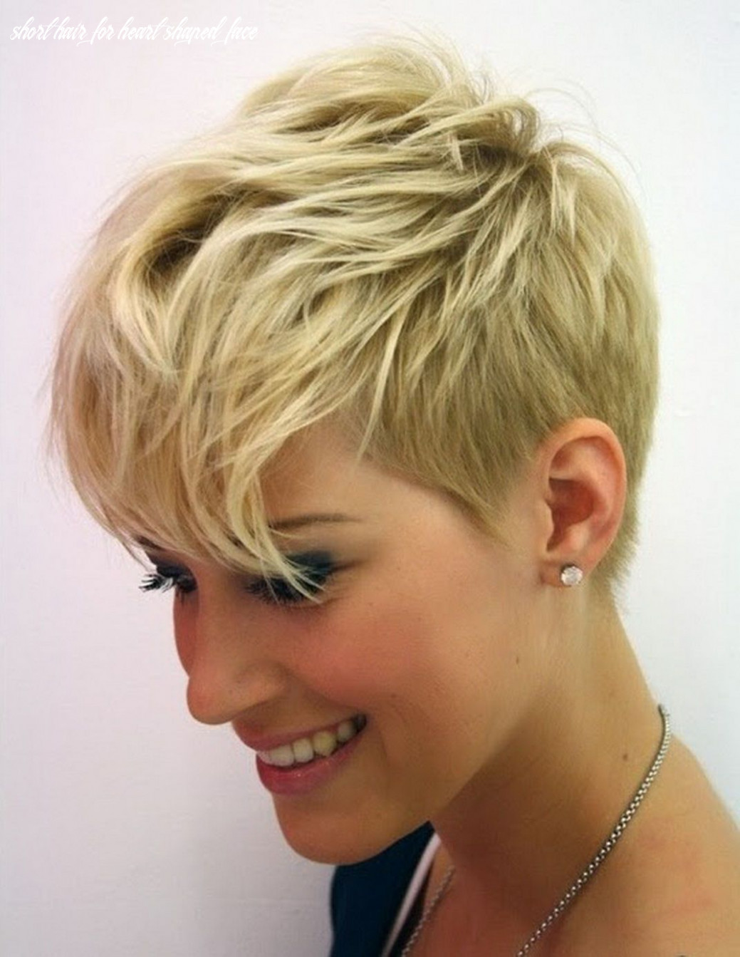 8 short hairstyles for heart shaped faces (with images) | thin