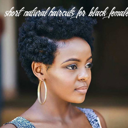 8 Short Natural Haircuts for Black Women - Love this Hair