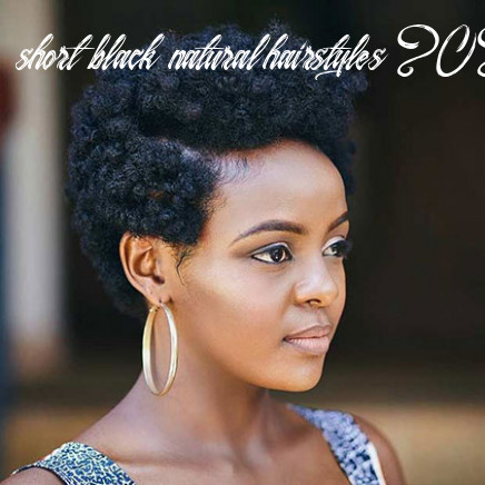 8 short natural hairstyles for black women | short hairstyles