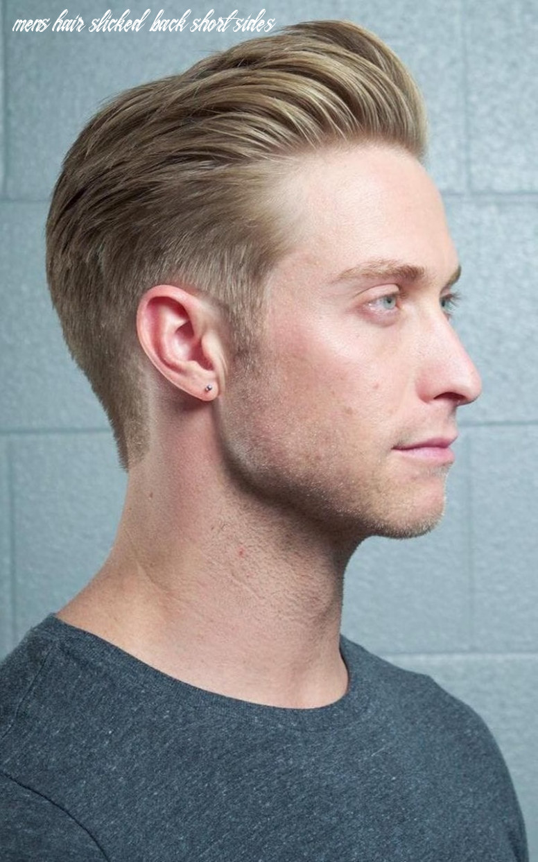 8 slicked back hair styles for 8 to try out mens hair slicked back short sides