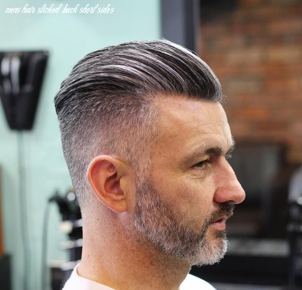 8 slicked back hairstyles 817 for men that no guy should miss