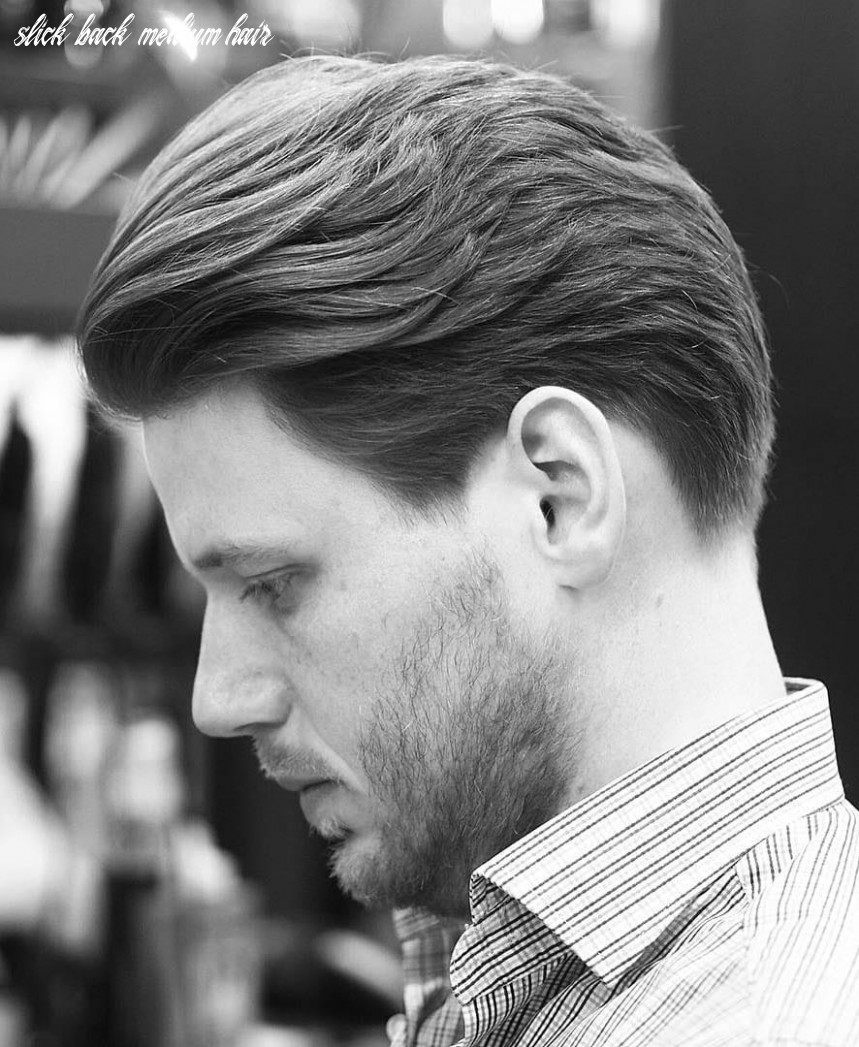 8 slicked back hairstyles: a classy style made simple guide slick back medium hair