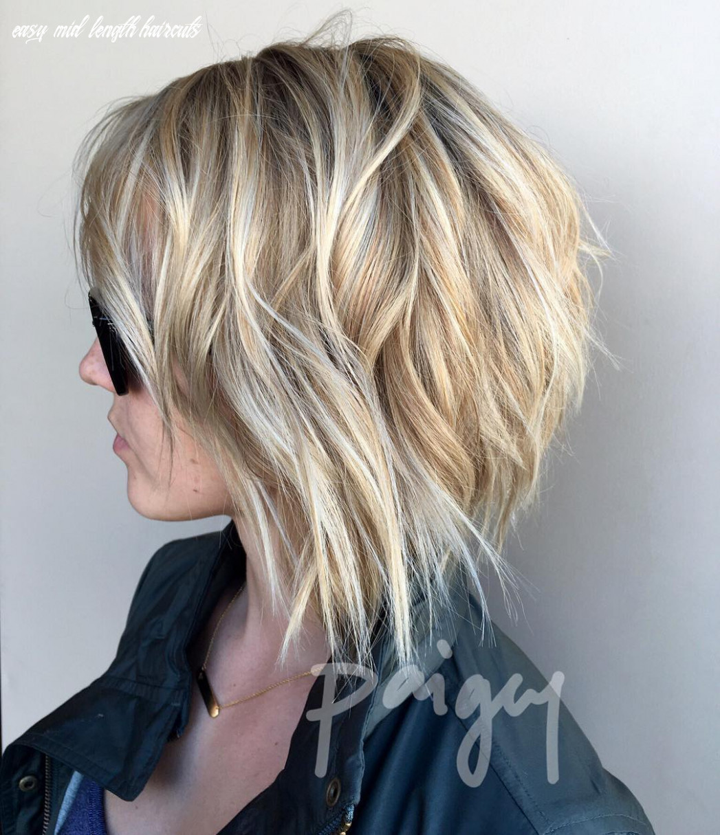 8 super cute and easy medium hairstyles 8 easy mid length haircuts