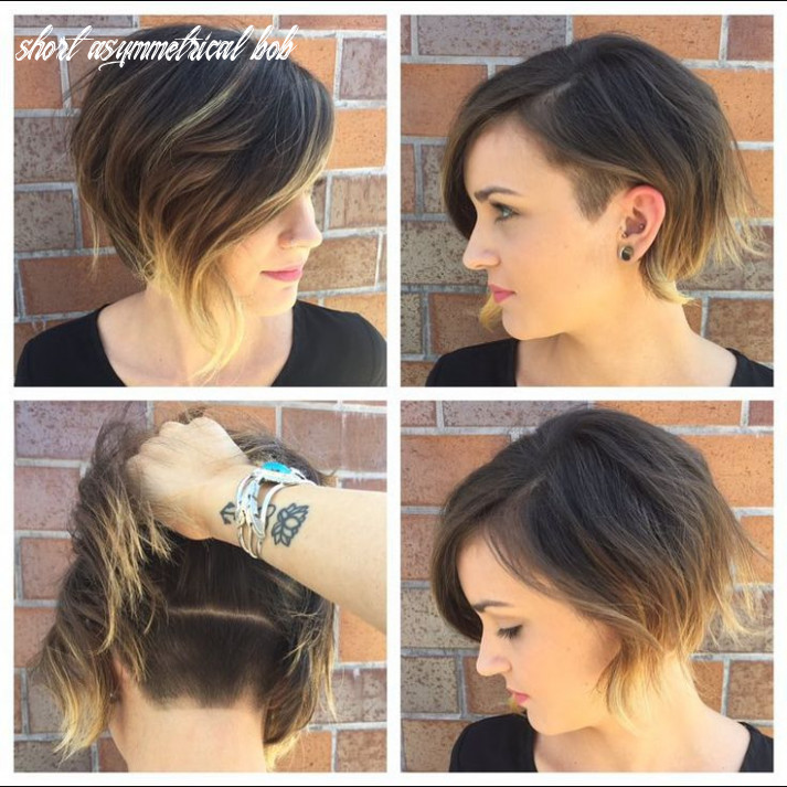 8 Super Cute Asymmetrical Bob Hairstyles - PoPular Haircuts