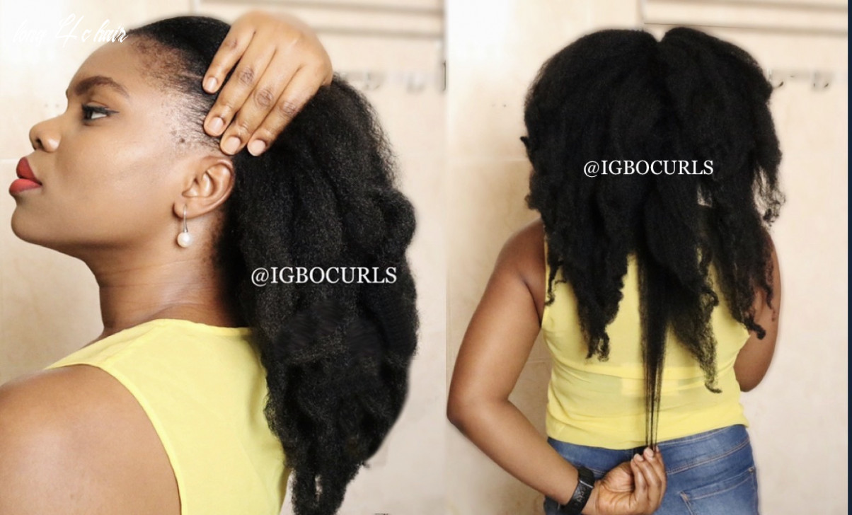 8 tips for 8c hair care for continous hair growth igbocurls long 4c hair