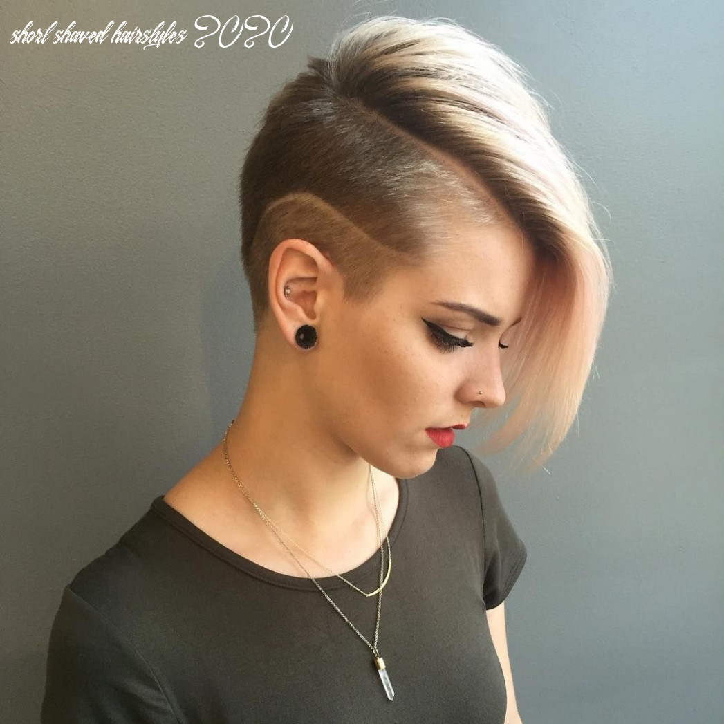 8 Trendiest Shaved Hairstyles for Women - Haircuts & Hairstyles 8