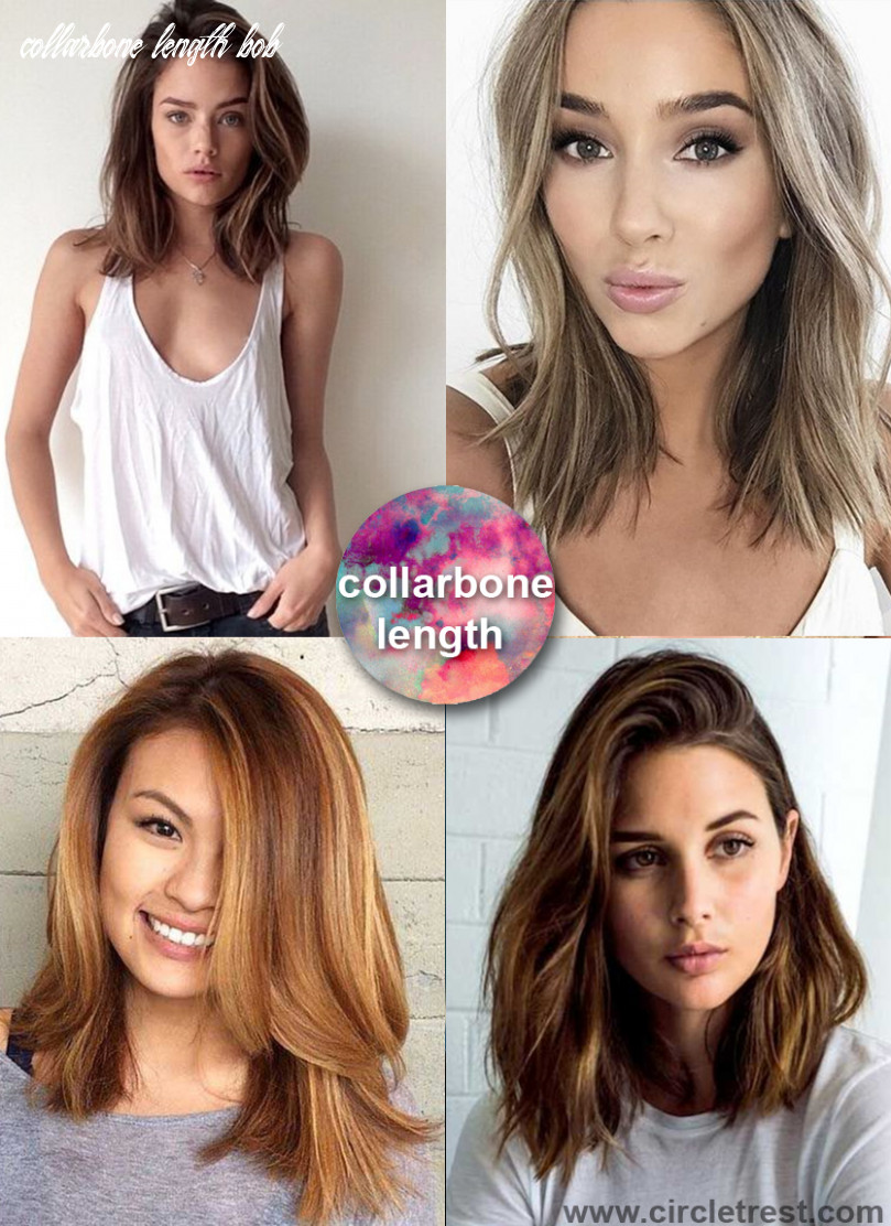 8 trendy medium hairstyles for women of all ages – circletrest collarbone length bob