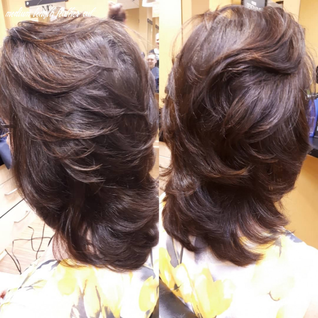 8 truly amazing layered haircut ideas to add to your hair goals medium length feather cut