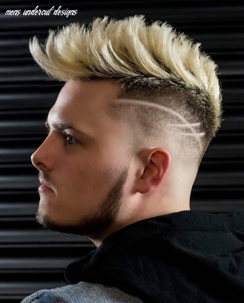 8 unique haircut designs for men mens undercut designs