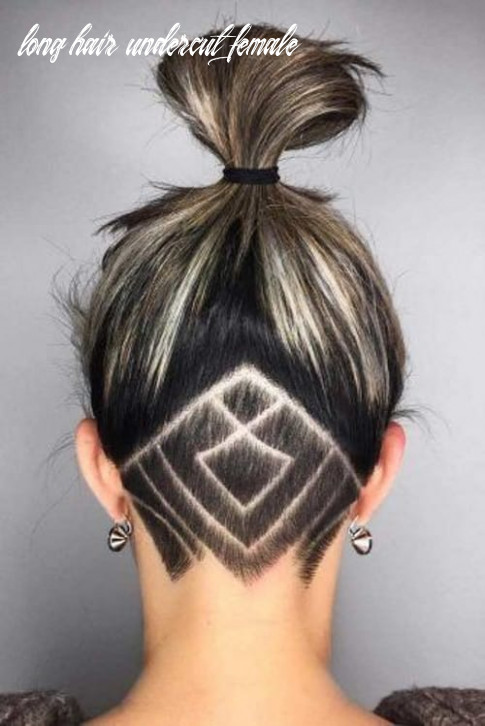 8 Valiant Undercut Hairstyles for Women with Long Hair