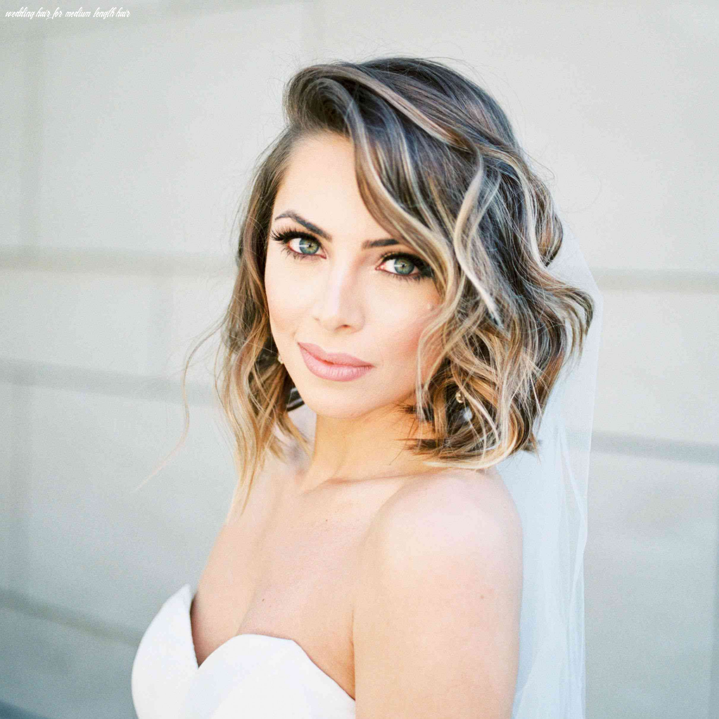 8 wedding hairstyles for medium length hair wedding hair for medium length hair
