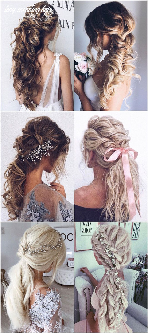 8 wedding hairstyles from ulyana aster to get you inspired   long