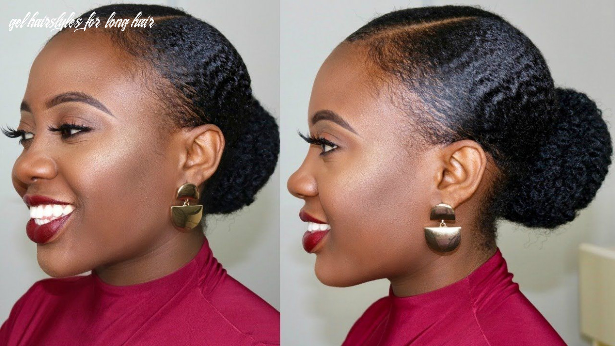 8c natural hair stays slick down for one week!?😲 how to stop gel