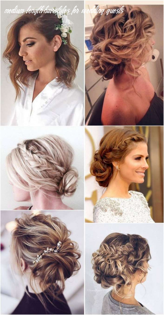 9 amazing shoulder length hairstyle for wedding gallery