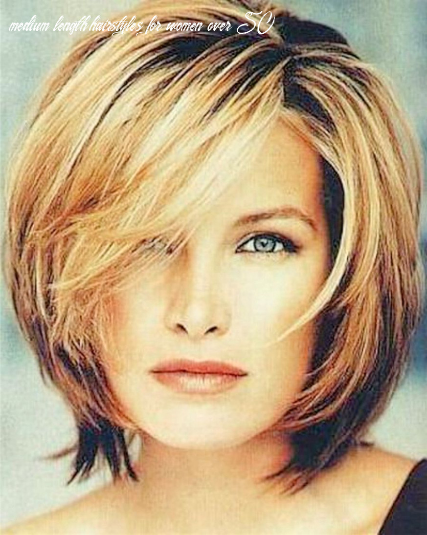 9 Astonishing Mid Length Hairstyle For Women Over 9 9