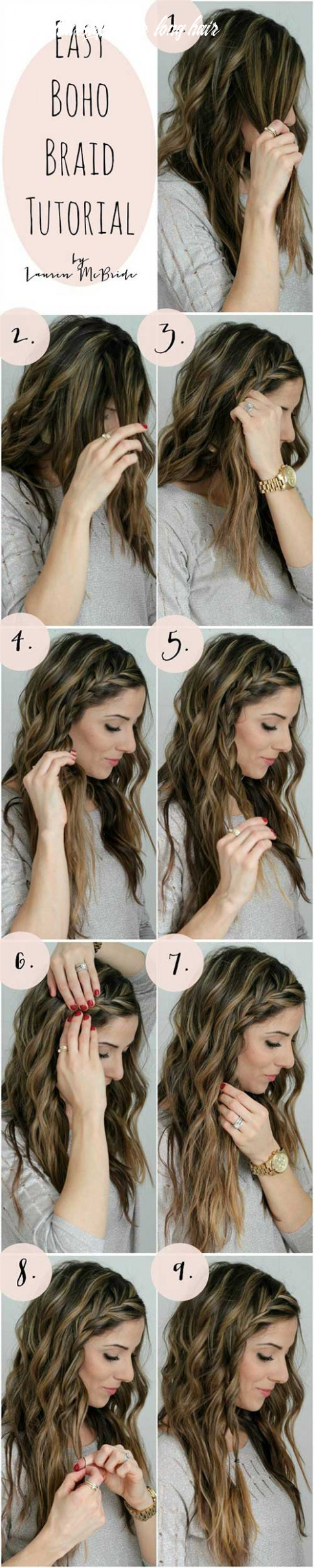 9 awesome hairstyles for girls with long hair quick hairstyles for long hair