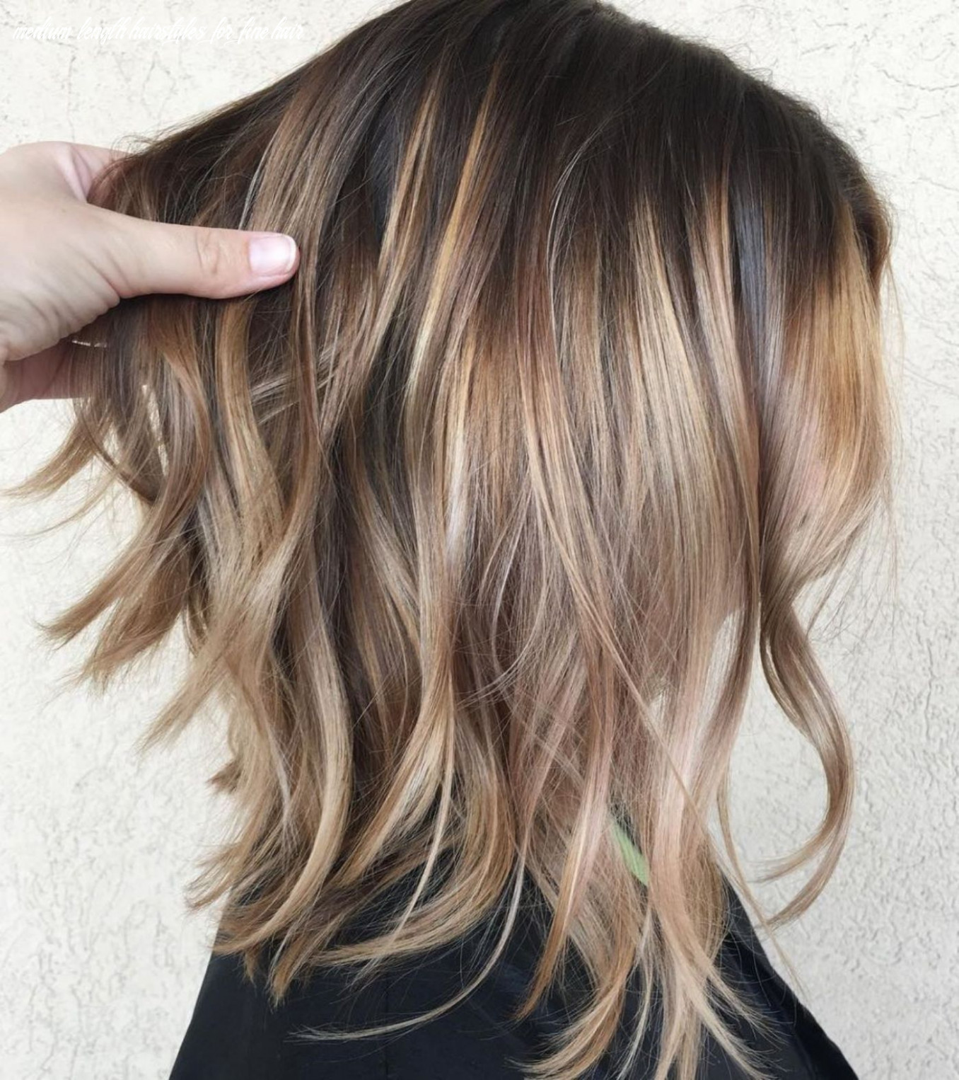 9 awesome perfect medium length hairstyles for thin hair (with