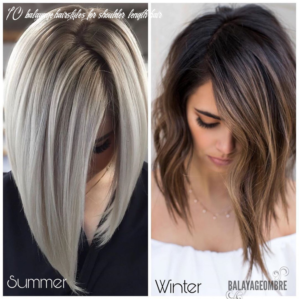 9 balayage and ombré hairstyles for shoulder length hair 9 9 10 balayage hairstyles for shoulder length hair