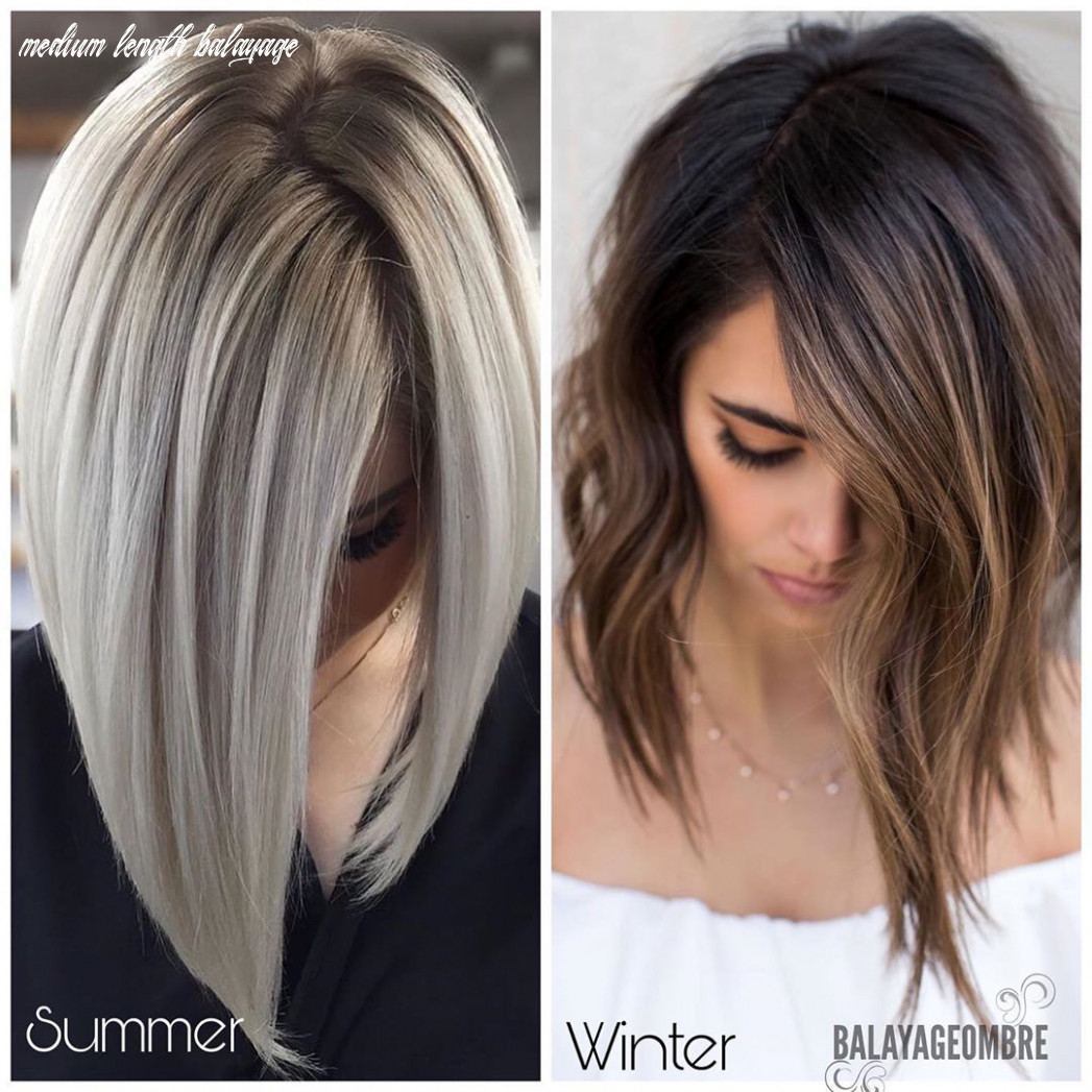 9 Balayage and Ombré Hairstyles for Shoulder-Length Hair 9 ...