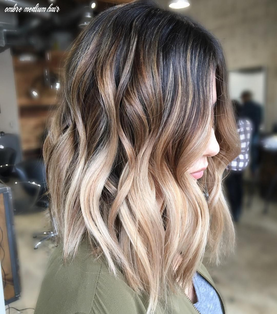 9 balayage ombre hair styles for shoulder length hair, women