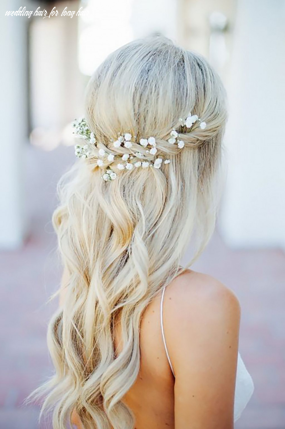 9 Beautiful and Easy Wedding Hairstyle for Long Hair | Simple ...
