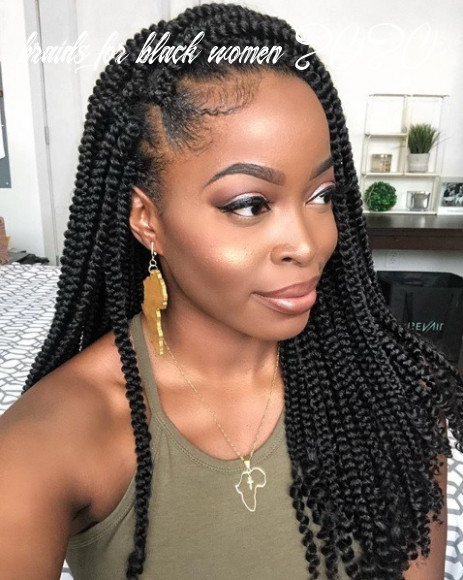 9 Best Braided Hairstyles for Black Women To Try In 9
