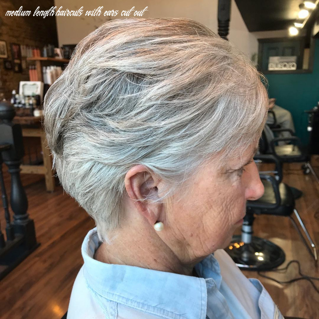 9 best looking hairstyles for women over 9 hair adviser medium length haircuts with ears cut out