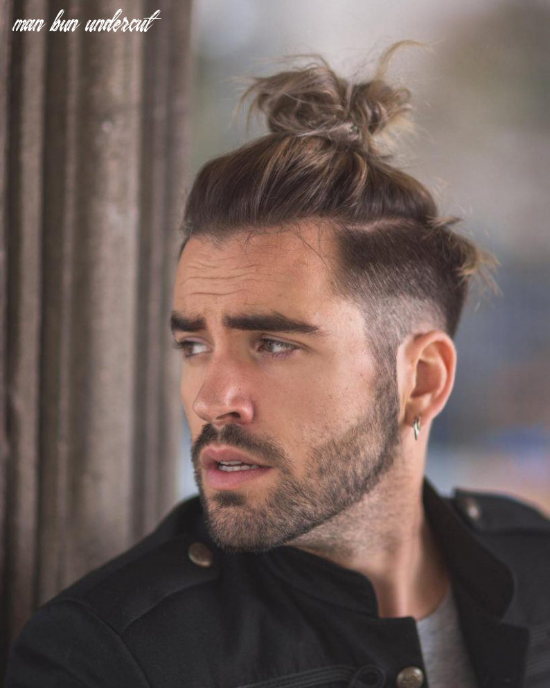 9 Best Man Bun Fade Hairstyles | Men's Hairstyles & Haircuts