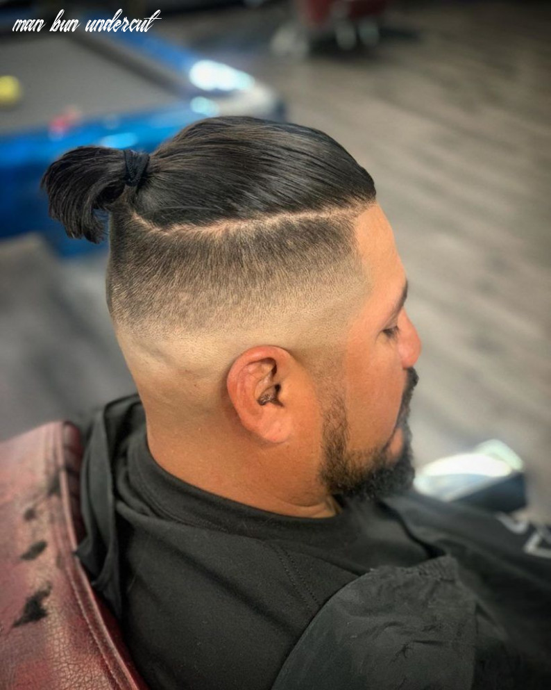 9 best man bun undercut hairstyles you need to see! | outsons