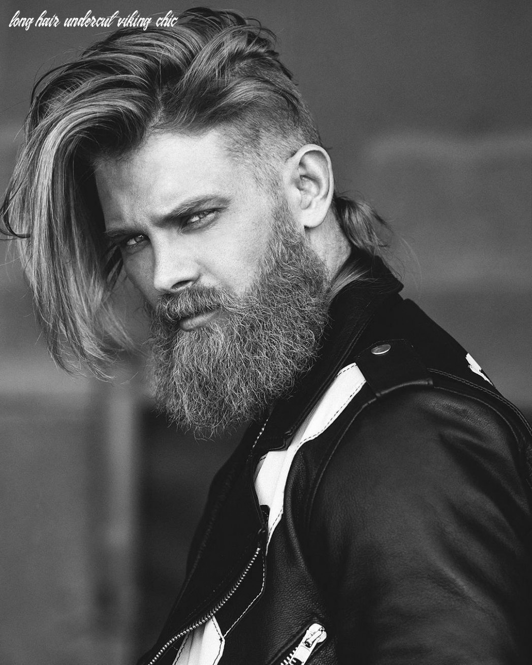 9 best viking hairstyles for the rugged man (9 update) long hair undercut viking chic