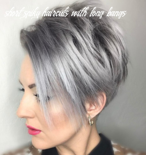 9 bold and beautiful short spiky haircuts for women short spiky haircuts with long bangs