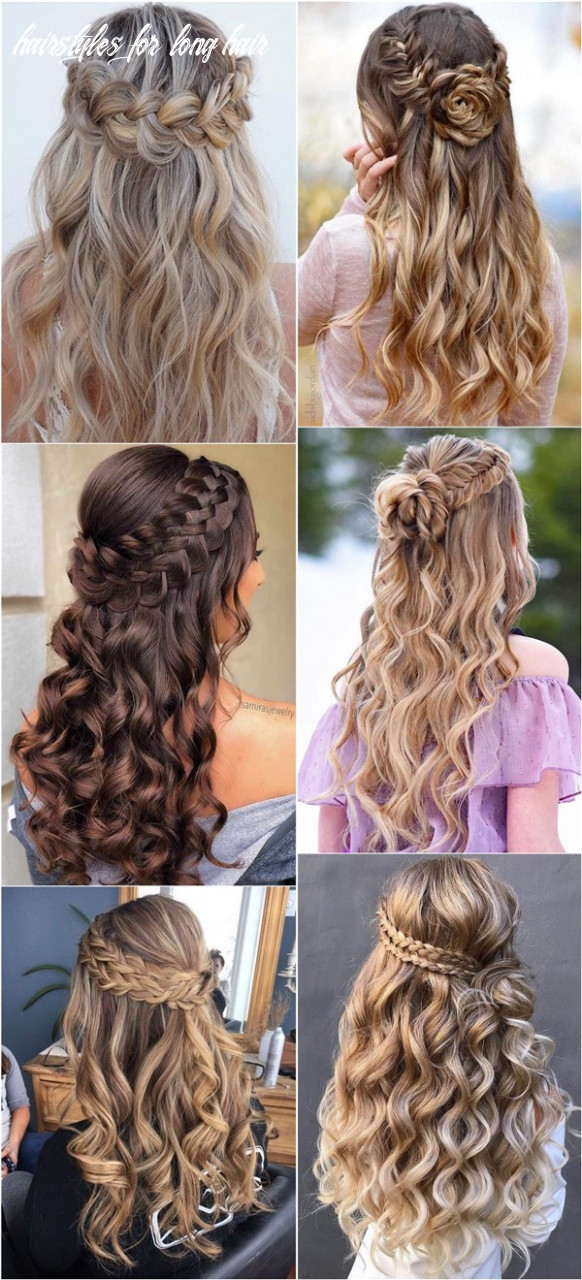 9 Braided Wedding Hairstyles for Long Hair - Oh The Wedding Day ..