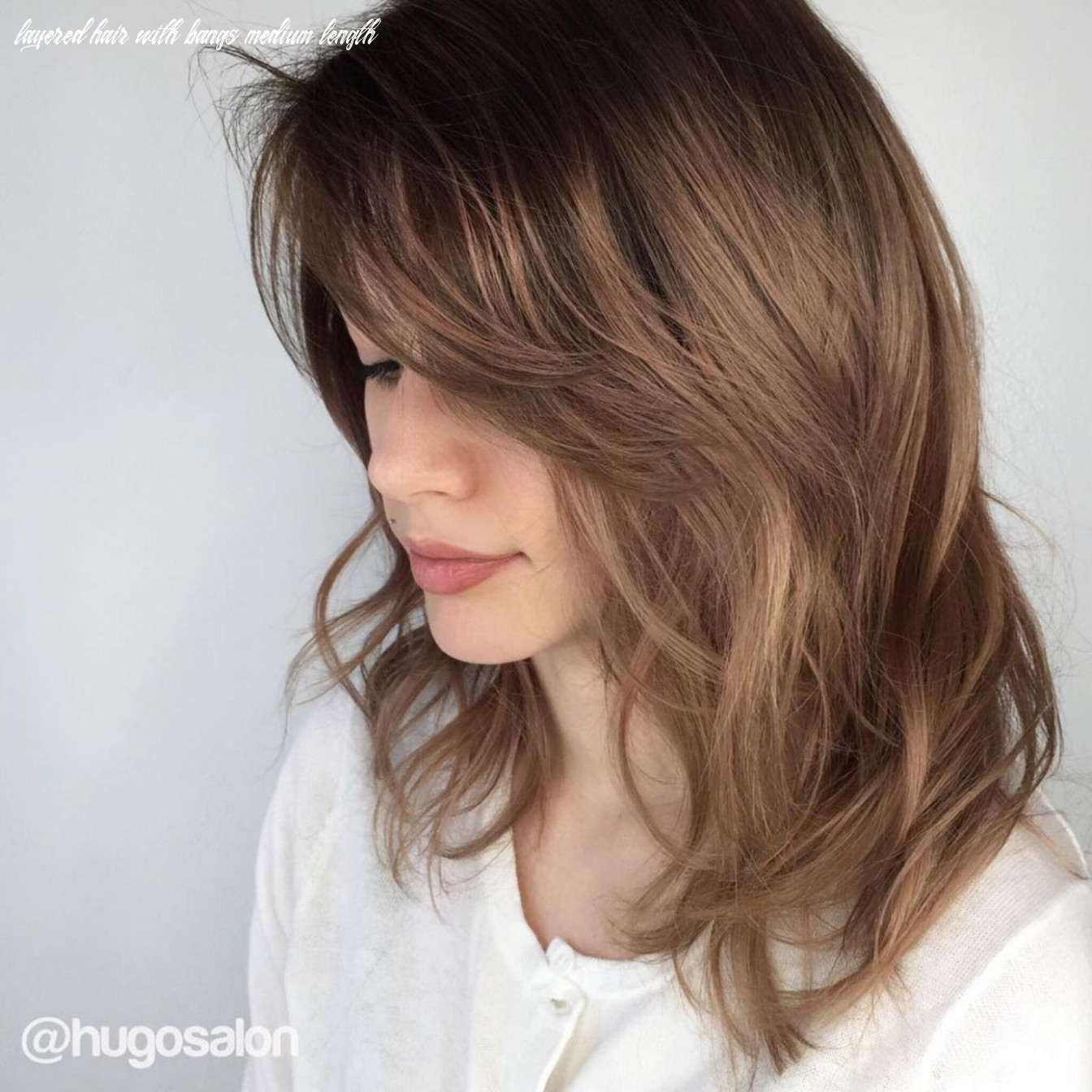 9 Brightest Medium Layered Haircuts to Light You Up | Medium ...